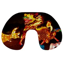 Dragon Lights Travel Neck Pillows