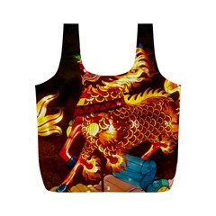 Dragon Lights Full Print Recycle Bag (m)