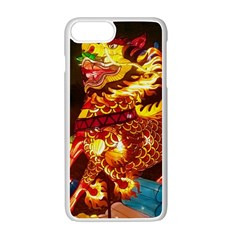 Dragon Lights Apple Iphone 7 Plus Seamless Case (white)