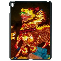 Dragon Lights Apple Ipad Pro 9 7   Black Seamless Case