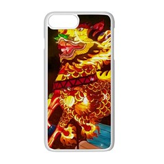 Dragon Lights Apple Iphone 8 Plus Seamless Case (white)