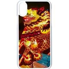 Dragon Lights Apple Iphone X Seamless Case (white)