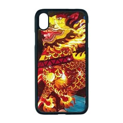 Dragon Lights Apple Iphone Xr Seamless Case (black)