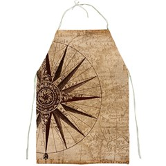 Vintage Compass Full Print Aprons by WensdaiAddamns
