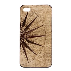 Vintage Compass Apple Iphone 4/4s Seamless Case (black) by WensdaiAddamns