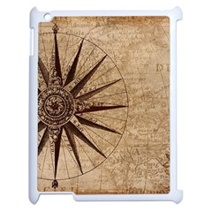 Vintage Compass Apple Ipad 2 Case (white)
