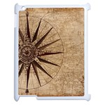 Vintage Compass Apple iPad 2 Case (White) Front