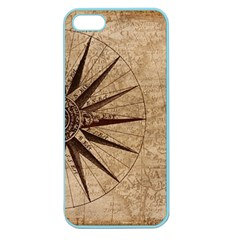 Vintage Compass Apple Seamless Iphone 5 Case (color) by WensdaiAddamns