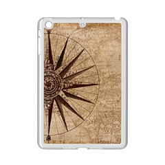 Vintage Compass Ipad Mini 2 Enamel Coated Cases by WensdaiAddamns