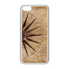 Vintage Compass Apple Iphone 5c Seamless Case (white)