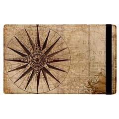 Vintage Compass Apple Ipad Pro 12 9   Flip Case