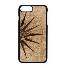 Vintage Compass Apple Iphone 8 Plus Seamless Case (black) by WensdaiAddamns
