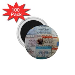 Concert Memorabilia  1 75  Magnets (100 Pack)  by StarvingArtisan