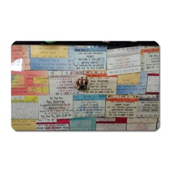Concert Memorabilia  Magnet (rectangular) by StarvingArtisan