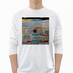 Concert Memorabilia  Long Sleeve T-shirt by StarvingArtisan