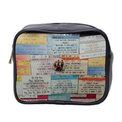 Concert Memorabilia  Mini Toiletries Bag (two Sides) by StarvingArtisan