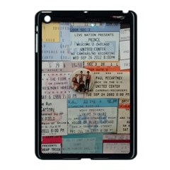 Concert Memorabilia  Apple Ipad Mini Case (black)