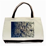 Pelicans In Flight Basic Tote Bag Front