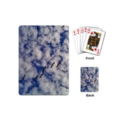 Pelicans In Flight Playing Cards (mini)