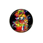Dragon Lights Centerpiece Hat Clip Ball Marker Front