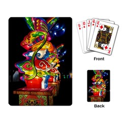 Dragon Lights Centerpiece Playing Cards Single Design by Riverwoman