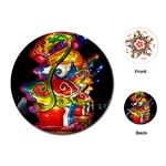 Dragon Lights Centerpiece Playing Cards (Round) Front
