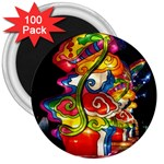 Dragon Lights Centerpiece 3  Magnets (100 pack) Front