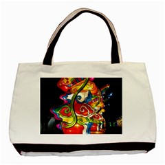 Dragon Lights Centerpiece Basic Tote Bag