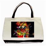 Dragon Lights Centerpiece Basic Tote Bag Front