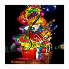 Dragon Lights Centerpiece Medium Glasses Cloth