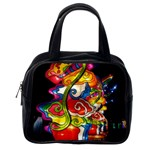 Dragon Lights Centerpiece Classic Handbag (One Side) Front