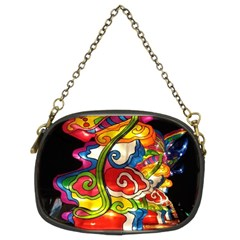 Dragon Lights Centerpiece Chain Purse (two Sides)