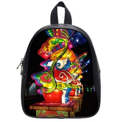 Dragon Lights Centerpiece School Bag (small) by Riverwoman