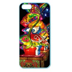 Dragon Lights Centerpiece Apple Seamless Iphone 5 Case (color) by Riverwoman