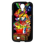 Dragon Lights Centerpiece Samsung Galaxy S4 I9500/ I9505 Case (Black) Front