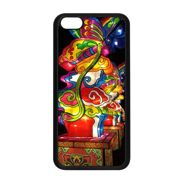 Dragon Lights Centerpiece Apple iPhone 5C Seamless Case (Black)