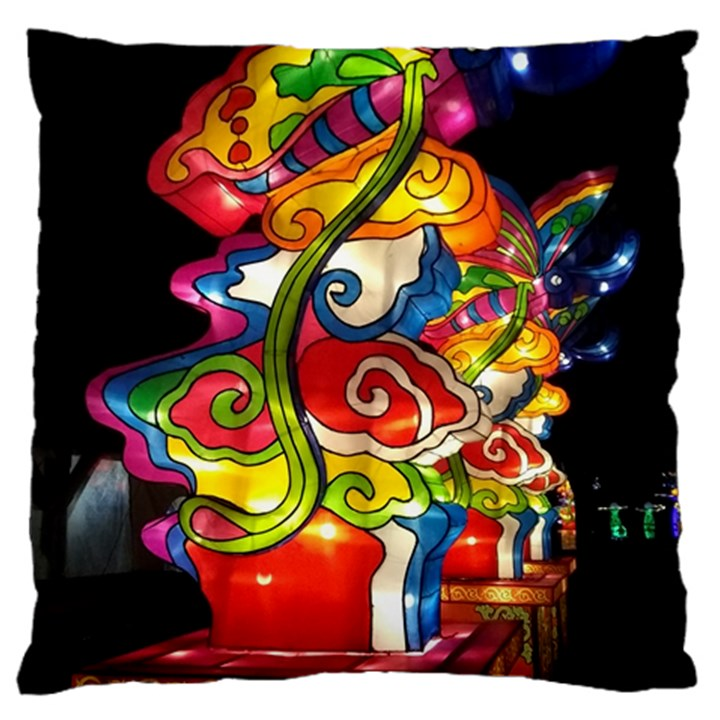 Dragon Lights Centerpiece Large Cushion Case (One Side)