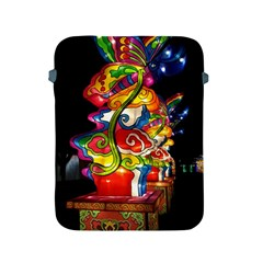 Dragon Lights Centerpiece Apple Ipad 2/3/4 Protective Soft Cases by Riverwoman