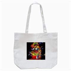 Dragon Lights Centerpiece Tote Bag (white)