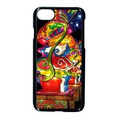 Dragon Lights Centerpiece Apple Iphone 7 Seamless Case (black) by Riverwoman
