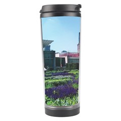 Lurie Garden Salvia River Travel Tumbler by Riverwoman