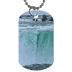 Niagara Falls Dog Tag (two Sides) by Riverwoman