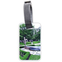 Shakespeare Garden Stratford Luggage Tags (one Side)  by Riverwoman
