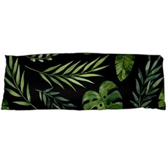 Night Tropical Leaves Body Pillow Case Dakimakura (two Sides) by goljakoff
