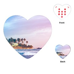 Seascape Playing Cards (heart) by goljakoff