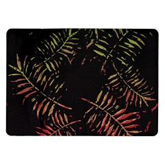 Gradient Tropical Leaves Samsung Galaxy Tab 10 1  P7500 Flip Case by goljakoff