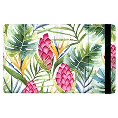 Tropical Leaves And Flowers Apple Ipad Pro 12 9   Flip Case by goljakoff