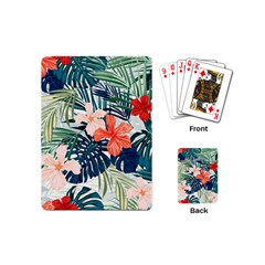 Tropical Flowers Playing Cards (mini) by goljakoff
