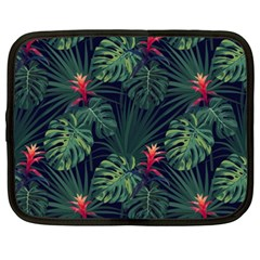 Monstera Flowers Netbook Case (xxl) by goljakoff