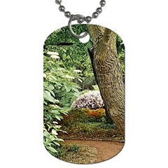 Garden Of The Phoenix Dog Tag (two Sides) by Riverwoman